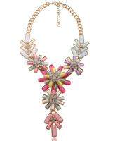New 2014 bubble Chokers Necklace Chain colorfull pendant bib Statement necklaces & pendants Fashion Jewelry For Women Wholesale