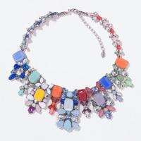2014 New Chokers Necklace Chain bib bubble collar pendant Statement fashion necklaces & pendants Fashion Jewelry For Women