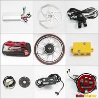 Hallo for moto r 48v 750w LED  panel electric bicycle rim motor conversion kit