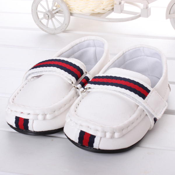 Retail white new 2014 spring fashion leisure baby shoes boys/girl Toddler size 12-14.5cm loafer 0-2 age first walker R2349(China (Mainland))