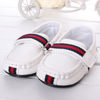 Retail white new 2014 spring fashion leisure baby shoes boys/girl Toddler size 12-14.5cm loafer 0-2 age first walker R2349