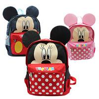 Unisex Children school bags Cartoon Mickey Minnie Backpack Top Quality mochila infantil New 2014 Kids School Bags