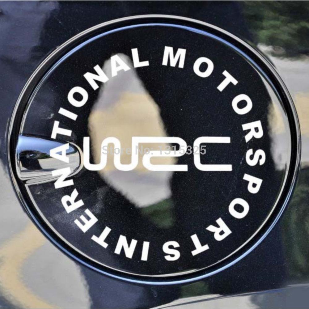 WRC Criativo Car Decal International Motor Sports traseiro para Toyota Ford Chevrolet Volkswagen VW Tesla Honda Hyundai Kia Lada(China (Mainland))