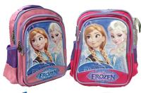 Wholesale-hot sell children school bags frozen backpack Anna Elsa olef 5p/l