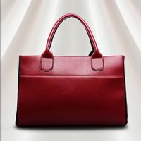 2014 New Fashion Classic Women's High-grade PU Celebrity Custom-made Handbag Cowhide Messenger Bags Shoulder Bag