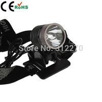 Free shipping 1800 Lm CREE XM-L U2 LED Bicycle bike HeadLight Light Headlamp & Battery Charger