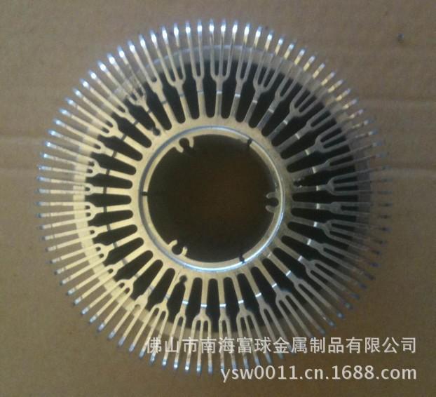 Customized high-precision aluminum radiator sunflowers aluminum industry aluminum profiles can sample processing(China (Mainland))