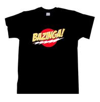 Bazinga  Theory Sheldon TV Show Humor Joke Novelty Gift Tshirt Tee