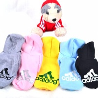 Free Shipping Hot Sale Pet Clothes Fashion Sweatrershirt For Dog Cat Puppy Pet Clothing Apparel Hoodies Sweater T-shirt
