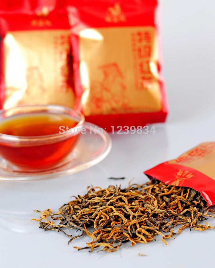 50g Top Quality Organic Dian Hong JinJunmei Yunnan Black Tea Free Shipping