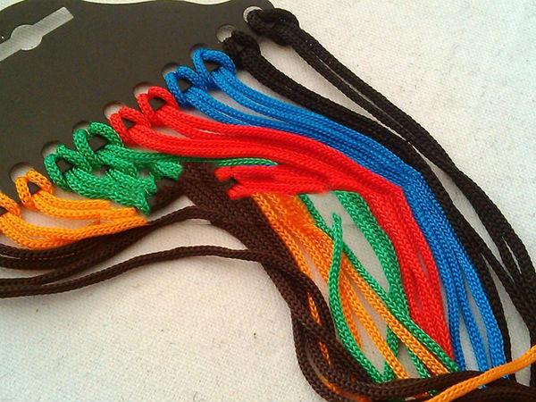 12pcs New Colorful Eyewear Nylon Cord Eyewear Rope glasses cord Glasses Chain Glasses Strap