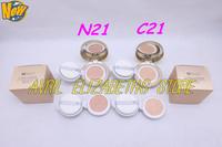 New HERA UV MIST CUSHION BB CREAM  Pressed Powder SPF50+/PA+++ 15GX2   N21.C21 Puff Cake Free Shipping