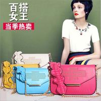Hot sale 2014 Spring genuine leather calfskin fashion totes handbags women messenger bags