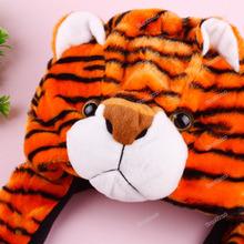 evertrust Cartoon Animal Cute Tiger Fancy Costume Mask Warmer Hat Cap wholesale(China (Mainland))