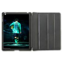 For iPad 2 3 4/iPad 5 Air/iPad Mini Football Sport European Golden Boot Messi Protective Smart Cover Leather Case