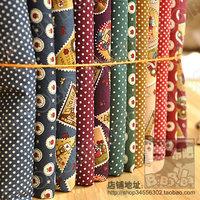 width145CM*50CM Fashion vintage print cotton cloth poplin diy patchwork fabric pillow bedding set tecidos woven sewing quilting
