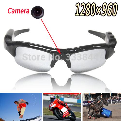 Promotion! Free & Drop Shipping! 1PC New Mini Digital Glasses Camera Mobile Eyewear Video Voice Recorder DV DVR 1280x960, CM1(China (Mainland))