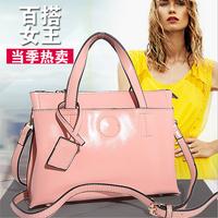 Hot sale 2014 Spring genuine leather calfskin fashion totes handbags women's messenger bags kl0006