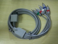 Free Shipping Component AV Cable for Wii (6ft)