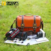 Genuine leather slr camera bag casual handbag women's vintage camera bag one shoulder camera bag a1334