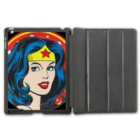 For iPad 2 3 4/iPad 5 Air/iPad Mini Hero Super Wonder Woman Protective Smart Cover Leather Case
