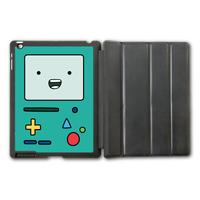 For iPad 2 3 4/iPad 5 Air/iPad Mini Adventure Time Beemo Protective Smart Cover Leather Case P19