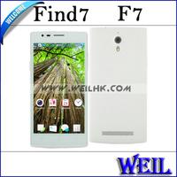Original F7 SC6825 Dual Core Andriod Phone 5.0 inch Touch Screen Dual SIm Card Dual Camera Russian With Flip Cover D034