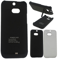 4500mAh Portable Power Bank External Backup Battery Charger Case for HTC ONE M8