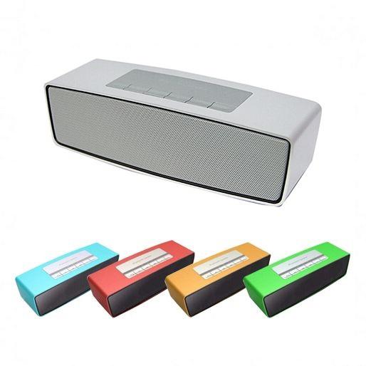Wireless HIFI Portable wireless Bluetooth Speaker double subwoofer loudspeakers mini USB music speakers sound box boombox(China (Mainland))