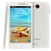 UTime FX 4GB MTK6589 Quad Core 5.0 inch 3G Android 4.2 Smart Phone RAM: 512MB, Dual SIM, WCDMA & GSM