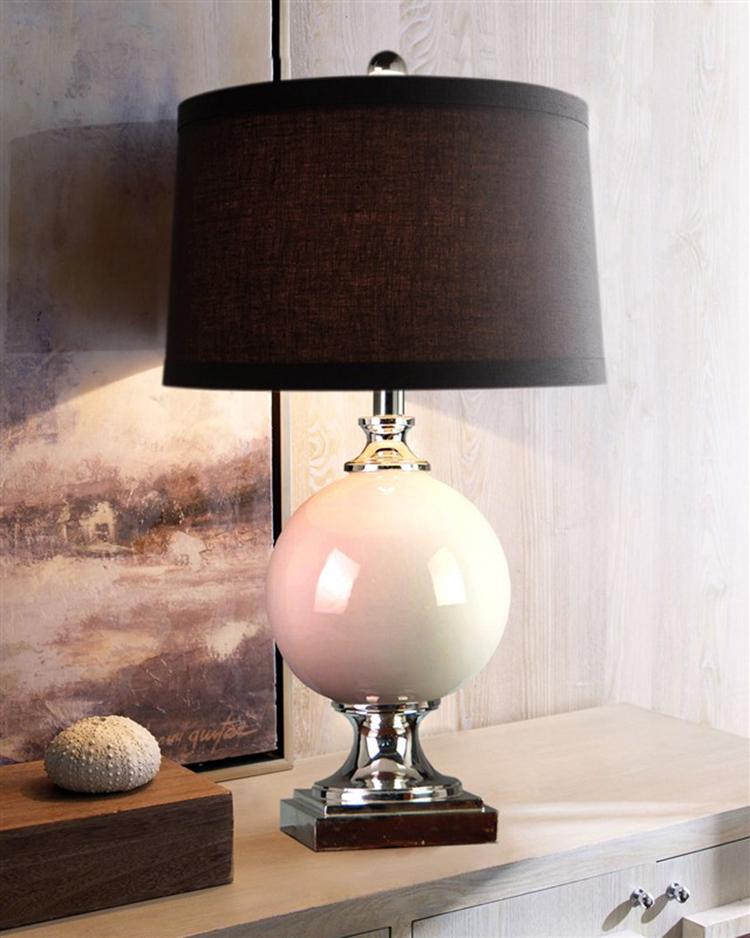 Cerâmica quarto candeeiro de mesa lâmpada de cabeceira lâmpada especial de cabeceira moda decorativo jardim iluminação da lâmpada(China (Mainland))