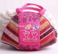 Bolsas femininas 2014 Chinese Styel  New Fashion Nationalwind Portable Handmade Ancient words  Zero Wallet
