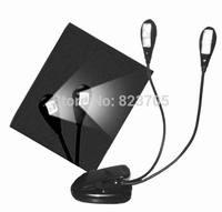 Flexible 2 Arm *2 LED ( 4 LED totally) Ebook Light LED.