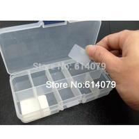 BST R656 10 lattice Transparent plastic storage box