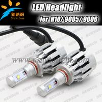 Newest 40W 4000LM 6500K CREE 9005 9006 HB3 H10 Led Headlight Conversion Kit Headlamp Lamp Bulb car 9005 headlight led bulbs