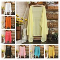 New Sweet Fashion Women Cardigan Knitwear Blouse Long Sleeve Sweater Sunscreen Coat Clothing Free Shipping