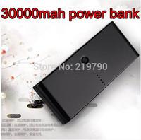 30000mAh Portable Universal Backup Dual USB Battery Power Bank External Battery Pack Charger For mobile phone free ship 20pcs