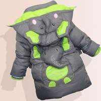 New 2014 Children Coat 3-8Yrs Baby Boy Winter Jacket Cartoon Brand Jacket For Boys Warm Outerwear More Color Free shipping C1645