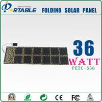 Traveller 36W Foldable Solar Panel Portable Solar Charger for mobile phone, laptop