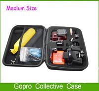 Top Sale 1PC Black Handbag Gopro Portable Collective Box Outdoor Storage Bag Case For Camera Go Pro HD Hero3 Hero2 Hero1 Hero3+