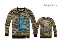Autumn 2014 new designer brand men's long sleeve hoodies diamond supply sweaters casual fashion hip hop sweatshirt Plus size XXL
