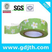 1627 pattern wholesale jadhesive decor tape apanese rice paper tape,  diy christmas tape decoration. free shipping