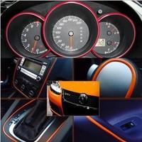 2014 New Car Decoration, 5meter Decorative Lines, Interior, Doors, Grille, Front, Rear View Mirror, Multi-purpose Light Strip