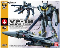 Macross Bandai Japan up to 1/72 MACROSS VF-1S Valkyrie Fokker aircraft Free Shipping  Assembled model  184464