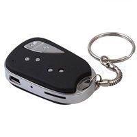 Hot 909 Car Key video Camera Mini DV Camcorder video recorder key chain Free Shipping