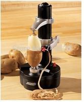 2pc/lot, multifuncational electric Rotato Express kitchen vegetable fruit peeler zester
