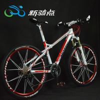 free Shipping 19-inch Frame Bicycle Bike High Strength Aluminum Alloy 26 inch Mountain bike 27 Speed Mountain Bike