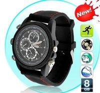 HD 1080P Waterproof watch camera IR Night vision Mini watch DVR hidden watch camera mini comcorders 16GB