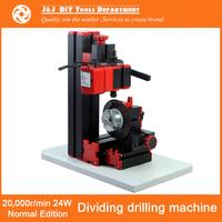 20,000r/min Dividing Drilling Machine DIY Metal Drilling Machine with Dividing Attachment