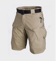 Tan Color New IX7 Outdoor tactical Shorts SWAT Casual Men's Knee-length Cargo Summer Hiking Camping Travel Short
